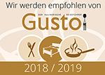 Gusto Empfehlung 2018/2019