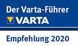 Varta-Führer Empfehlung 2020