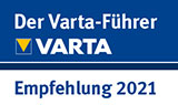 Varta-Führer Empfehlung 2021